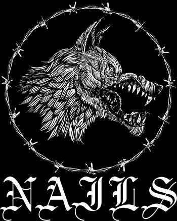 Nails band logo