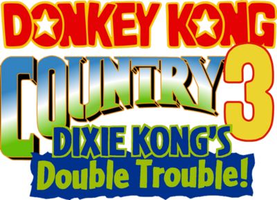 500px-Donkey Kong Country 3 logo