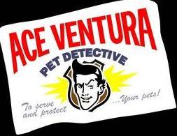 Ace ventura pet detective logo