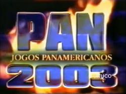 Jogos Pan-Americanos 2003 na Globo