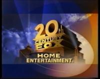 20TH CENTURY FOX HOME ENTERTAINMENT LOGO 2000