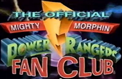 Mighty Morphin Power Rangers Fan Club logo