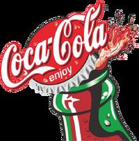 coca cola logo variations logopedia fandom powered by wikia. Black Bedroom Furniture Sets. Home Design Ideas