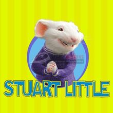 Stuart Little logo Iron On Transfers (Wall Stickers) N5326