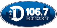 WDTW-FM 106 7 The D logo