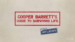 Cooper Barrett's Guide to Surviving Life Alternate Title