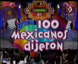 100 Mexicanos Dijeron Screenshot