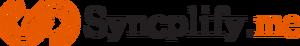 Syncplify orange black logo