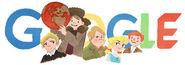 Google Oskar Luts' 125th Birthday