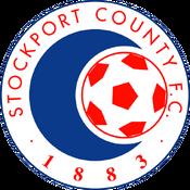 Stockport County FC logo (1989-1991)