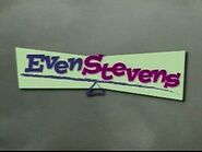 Even stevens title screen