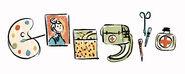 Google Nadežda Petrović's 142nd Birthday (Version 4)