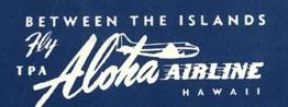 Aloha Airlines 1956