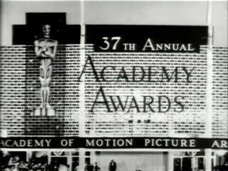 Oscars 37th tv