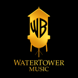 WaterTower Music Logo (2010; On a Black Box; Small Size)