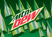 New Mountian Dew logo