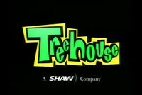 Treehouse TV logo (1999) (with Shaw)
