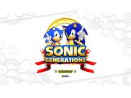 Sonic Generations Open Matte Full-screen