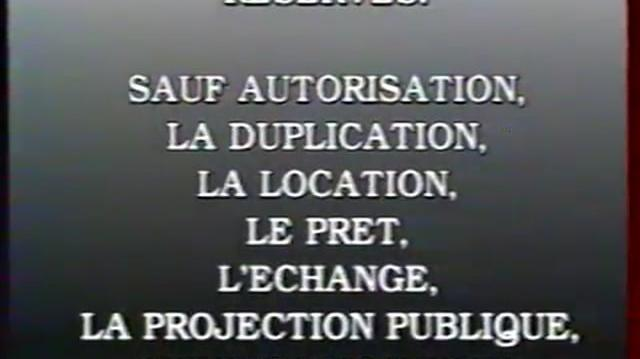Le Studio Canal (1993) - French VHS Logo & Warning