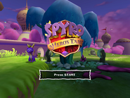 Spyro Hero's Tail Title