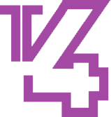 TRT TV4 1990 logo