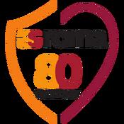 AS Roma logo (80th anniversary)