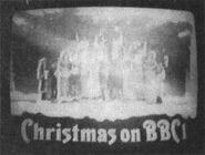 BBC1 Christmas ident 1973