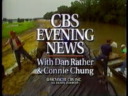 CBS Evening News Close 23-07-1993