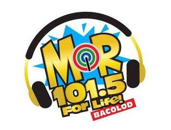 MOR 101.5 Bacolod new logo