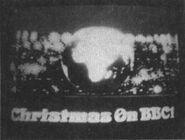 BBC1 Christmas ident 1970