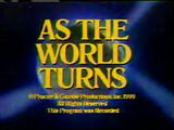 """As The World Turns"" Close From 1990"