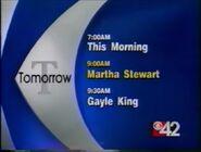 WBMG CBS 42 Weekday Morning promo 1998