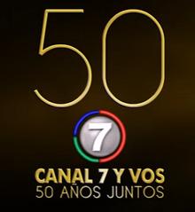 50 Años Juntos Canal 7 Y Vos 50 años juntos