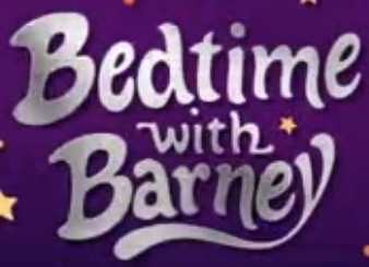 Bedtime with Barney logo