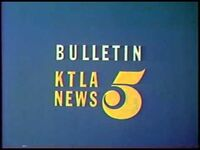 KTLA Bulletin 1970s