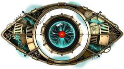 Big Brother eye logo for the 16th UK series