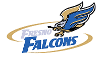 Fresno Falcons logo (1998-2003)