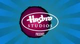 Hasbro Studios logo over bass drum
