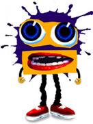 Klasky Csupo Robot Face in Splaat!
