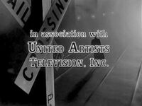 United Artists Television 1962 fugitive