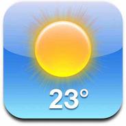 IOS Weather icon