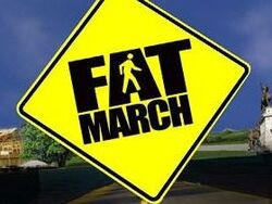 Fat march-show