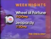 WPLG 10 promo Jeopardy It Must Be ABC 1992