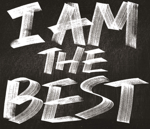 I Am the Best 2014 logo