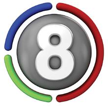Logo Canal 8 mar Del Plata 2017