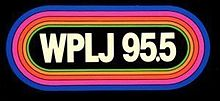WPLJ-FM's 95.5 Logo From The Late 1970's