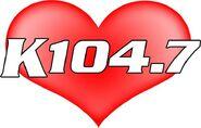 WSPK-FM's K104 Logo From February 2012