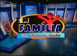 Em Familia con Frenando Mendes Alt