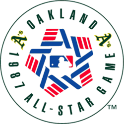 1987 Major League Baseball All-Star Game logo