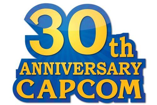 30th anniversary capcom logo